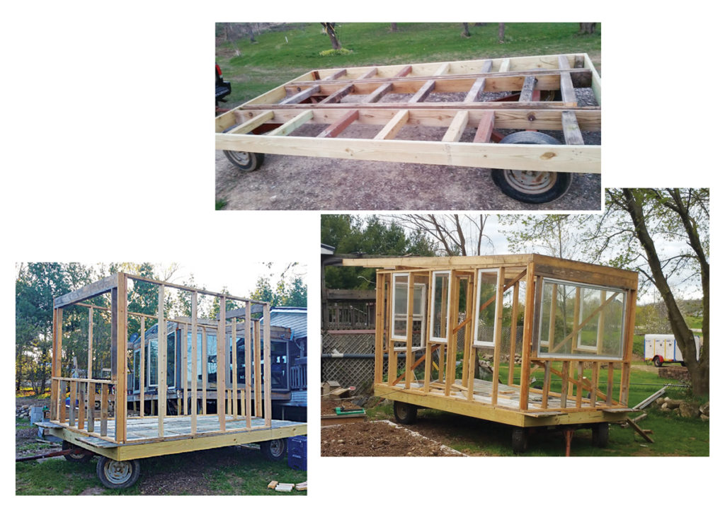 Moveable Chicken Tractor