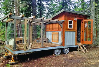 Chicken Coops Special Issue — Mobile Chicken Coop