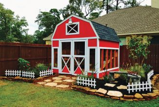 Cottage House Garden Shed Coop