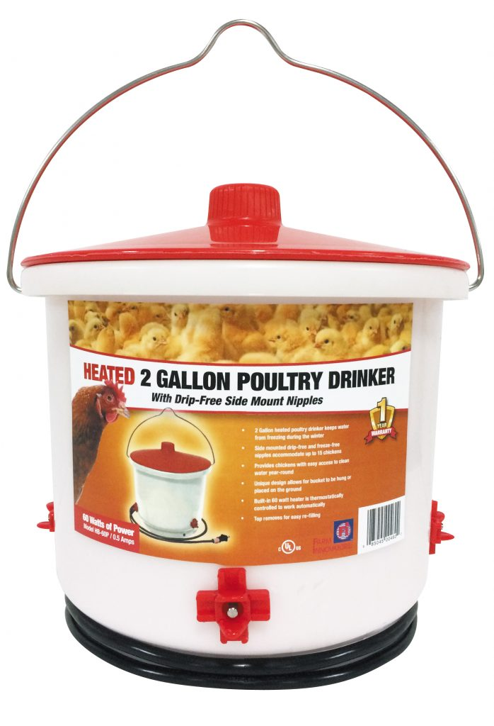 heated-chicken-waterer