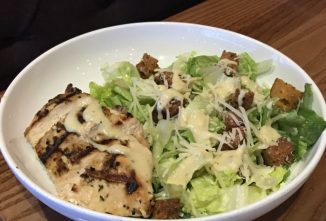 Chicken Caesar Salad - With Classic or Pesto Dressing Plus Homemade Croutons