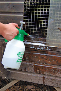 Use Safe Products to Spray Coops