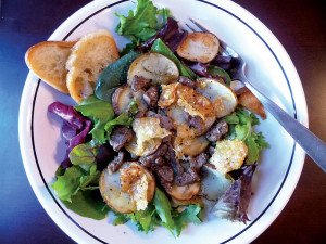 French Country Salad with Cracklings