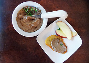 Balsamic Chicken Liver Pate