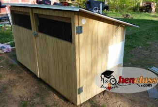 Free Chicken Coop Plan: An Easy 3x7 Coop