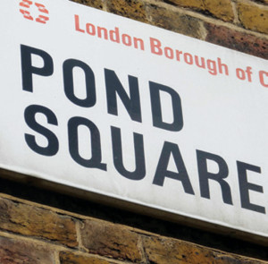 Peaceful Pond Square seems an unlikely venue for a poultry haunting but, then again, why not? London is full of strange stories like this weird tale of a ghost chicken.