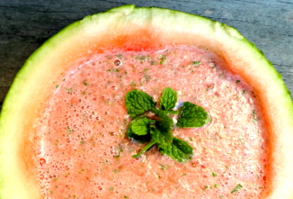 Can Chickens Eat Watermelon? Yes. Watermelon Soup with Mint Hits the Spot