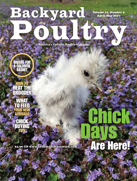 Backyard Poultry April/May 2017