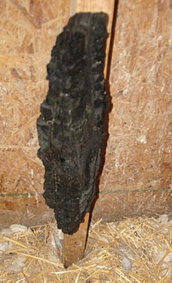A piece of charcoal attached to the wall inside a coop can give your poultry access to a natural substance that will help absorb toxins and help to keep the digestive system in balance.