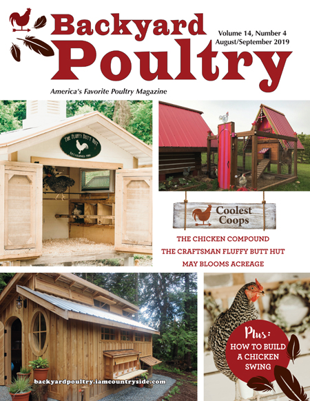 Backyard Poultry August/September 2019
