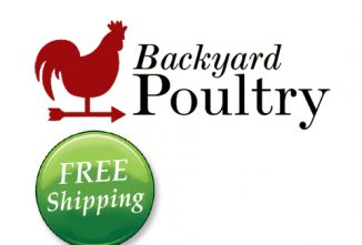 Backyard Poultry FREE Shipping