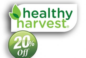 Healthy Harvest 20% Off