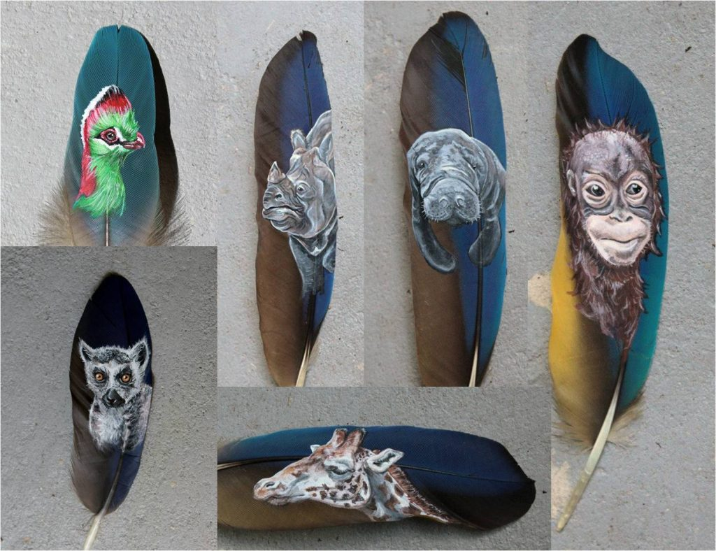 how-to-paint-feathers
