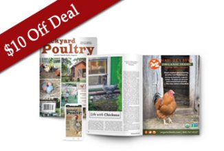 $10 off Black Friday Deal — Backyard Poultry All-Access Subscription