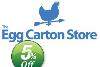 Save 5% Off At The Egg Carton Store