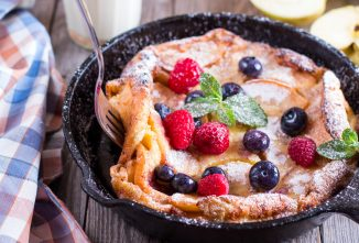 Puffed Dutch Baby Pancake is a Springtime Treat