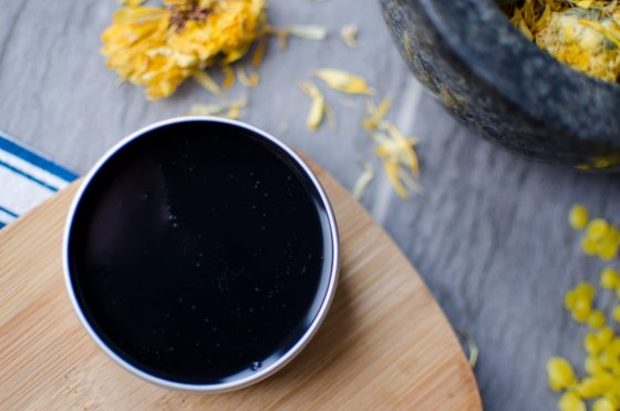 How to Make Homemade Black Drawing Salve for Your Chickens